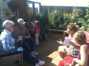 More garden talk