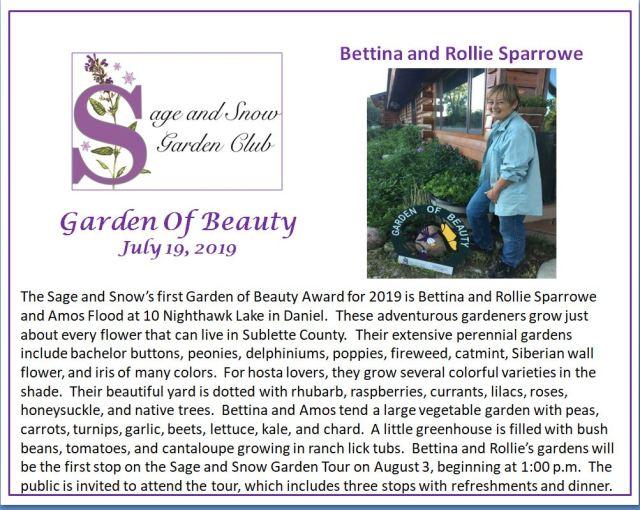 sparrowe garden of beauty